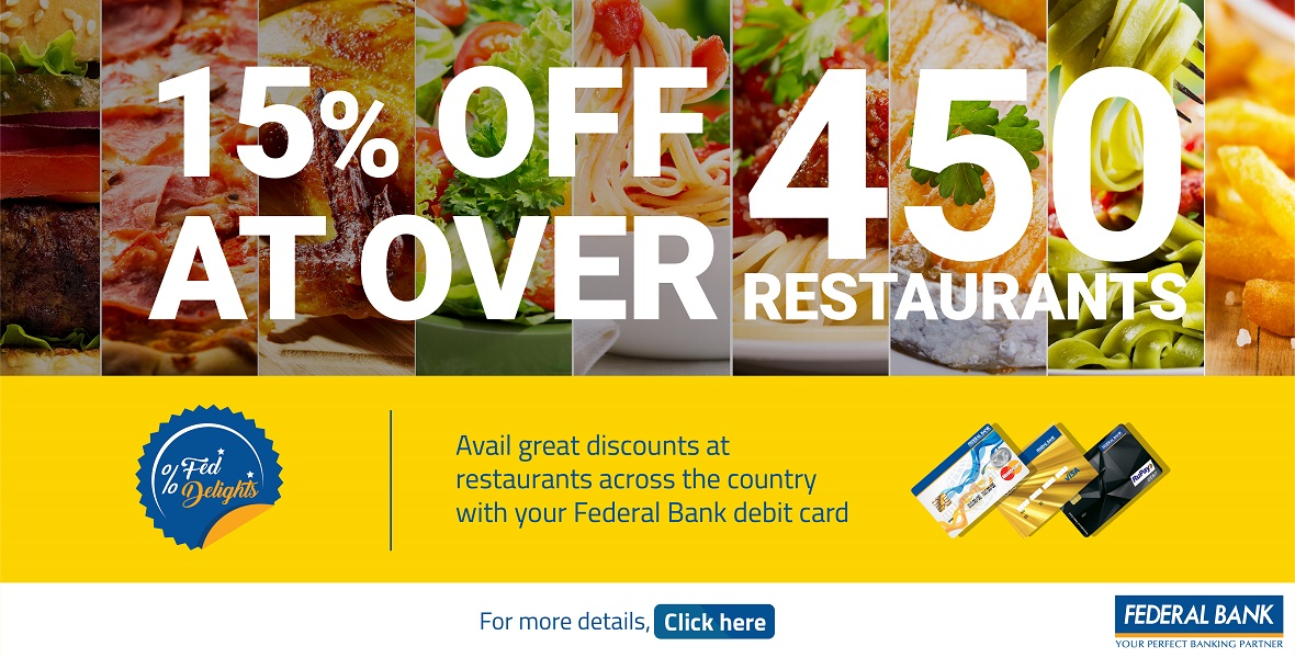 Federal Banks Deals & Offers | Credit Cards, Debit Cards
