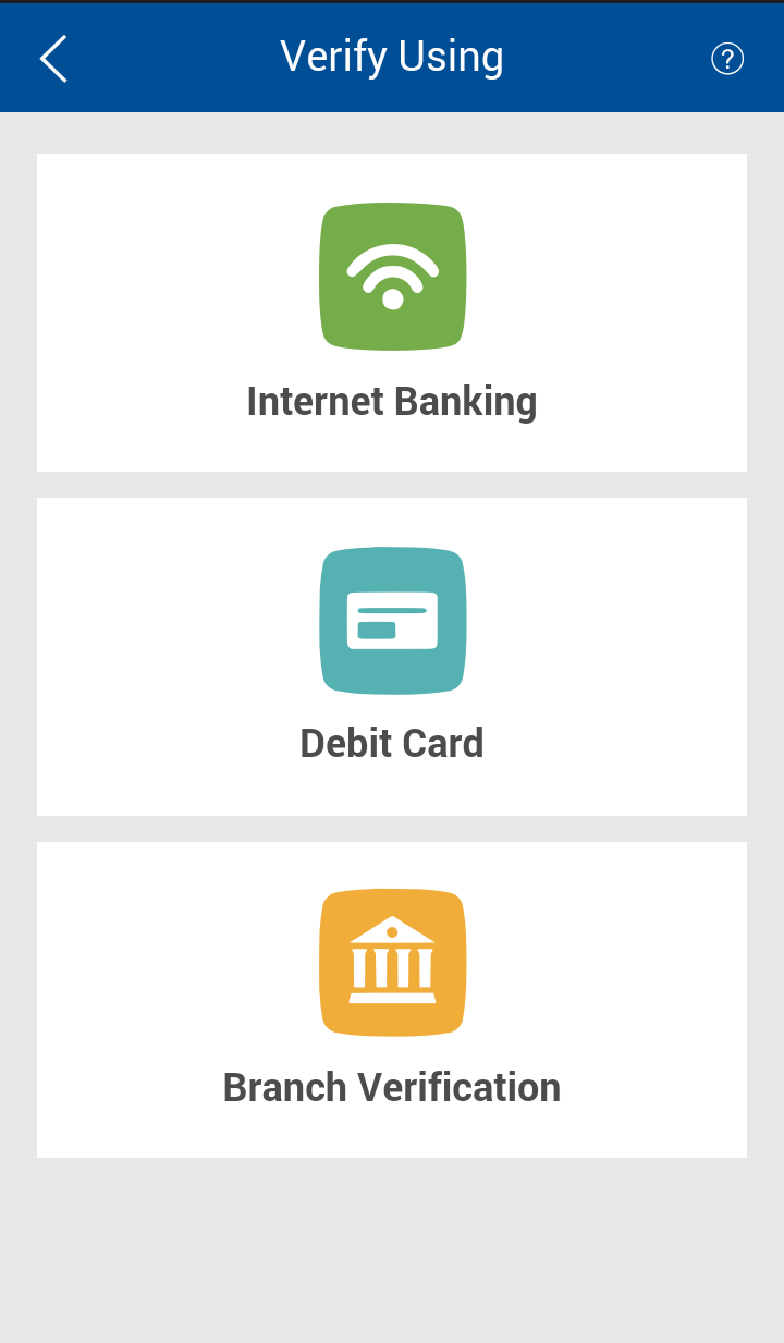 Select Internet Banking