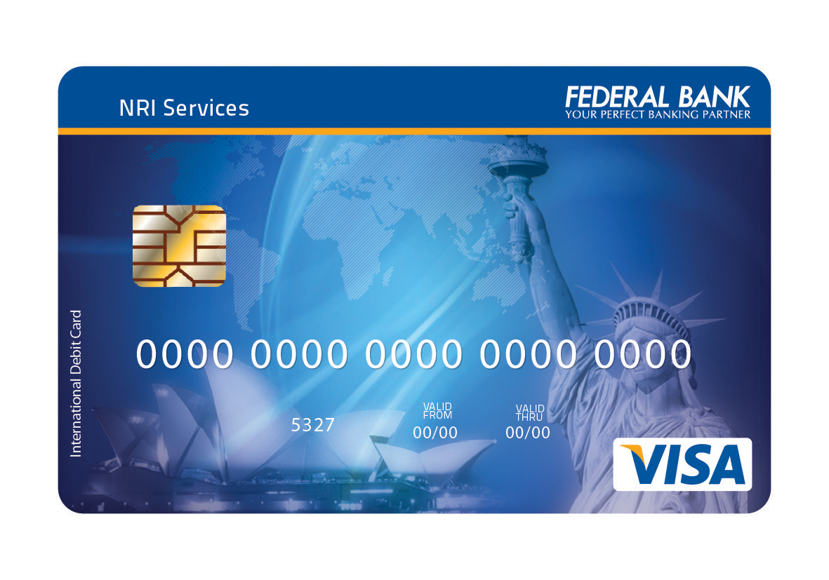 federal bank atm application form