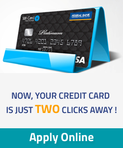 Apply Online- Federal Bank SBI credit cards