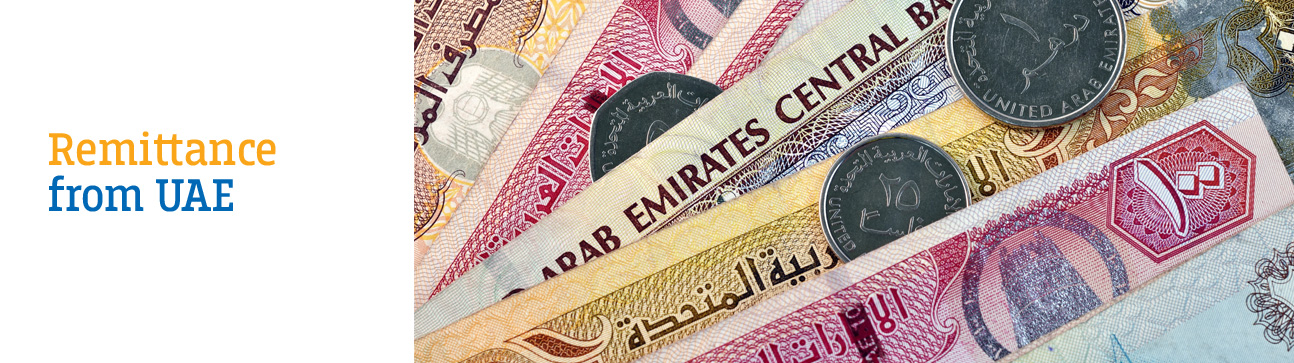 <h1> Remittance from UAE to India</h1>
