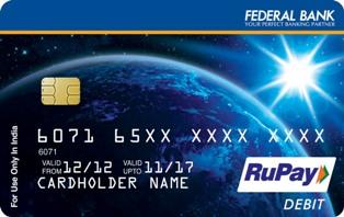 International Debit Card | Federal Bank Mastercard & Visa