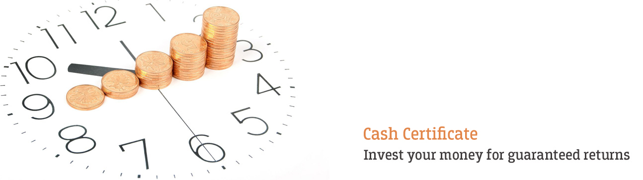 Cash Certificate