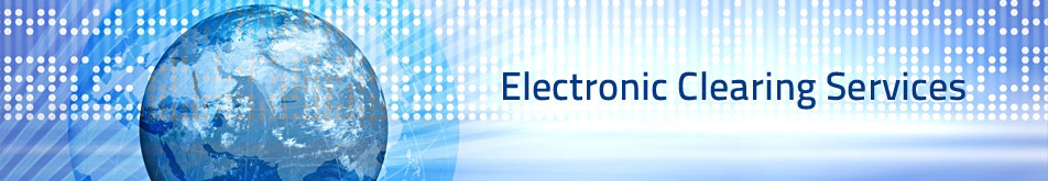 Electronic Clearing Services (ECS)