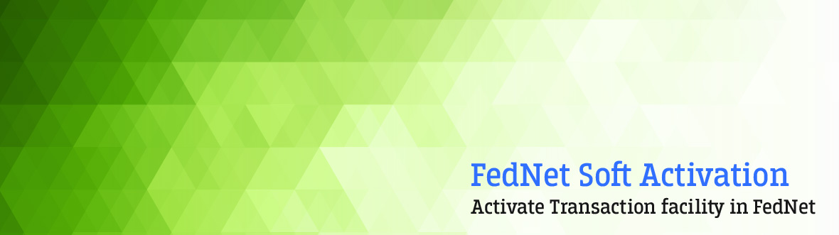 Federal Bank - FedNet Soft Activation