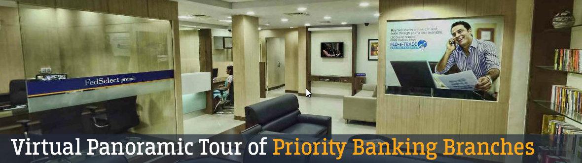 Federal Bank - Virtual Panoramic Tour Of Priority Banking Branches