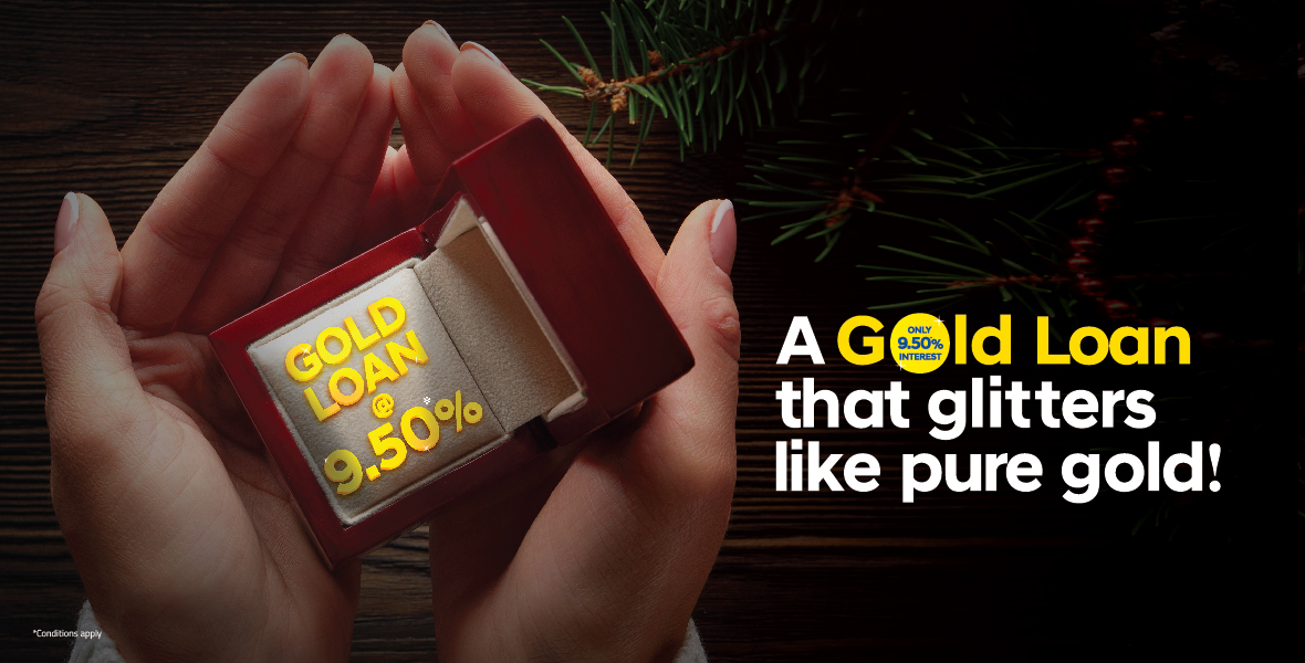 Avail gold loans from Federal Bank @ 9.50%