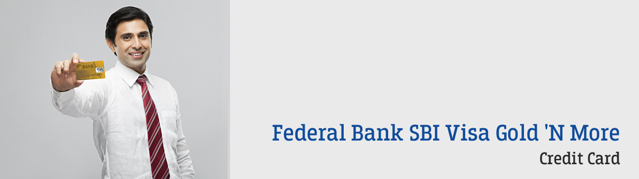 Federal Bank - Credit Card - Visa Gold