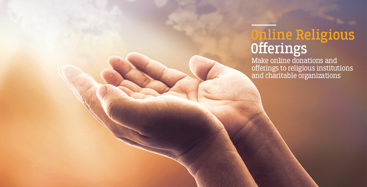 Federal Bank - Online Religious Offerings - Make Online Donations