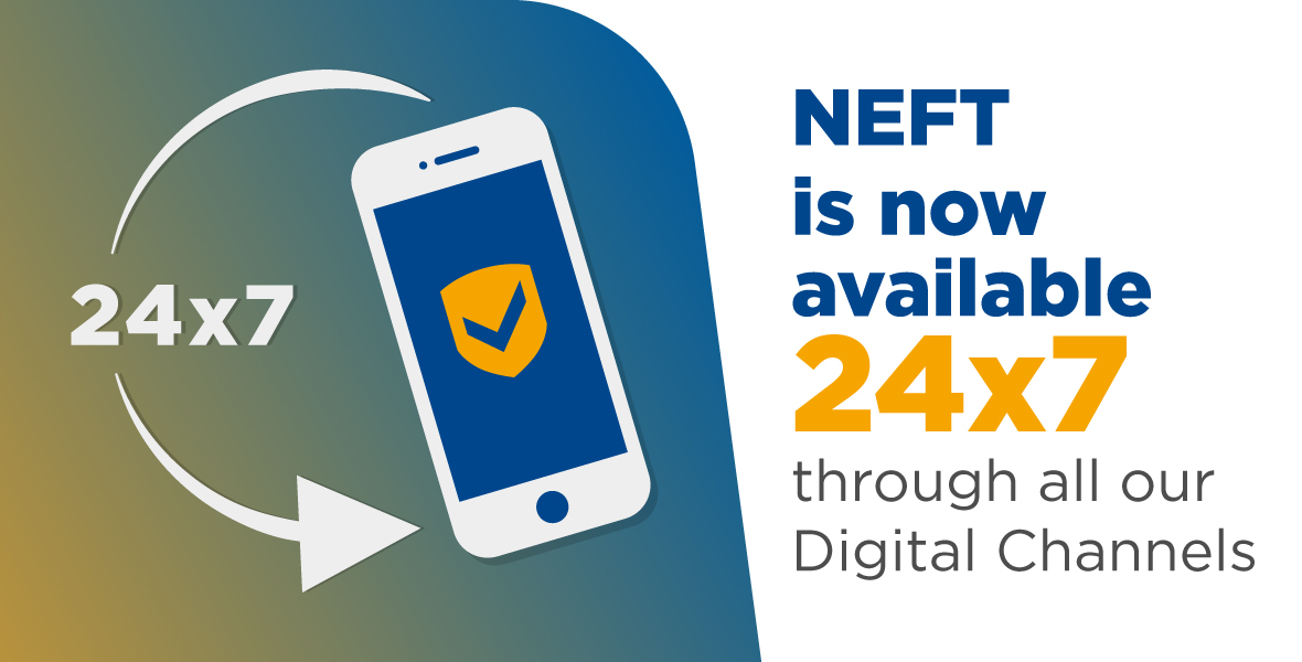 Neft is now available 24x7