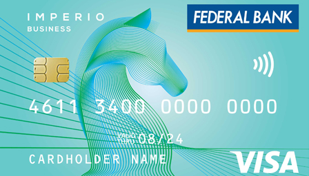 Imperio Business contactless Debit Card