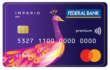 Imperio NR Contactless Debit Card