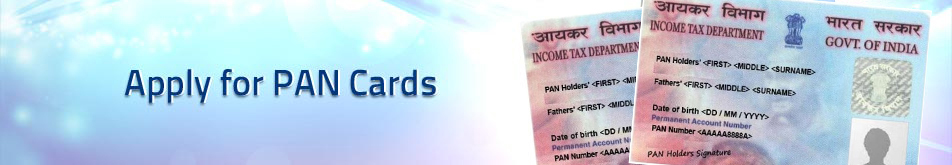 Apply for PAN Cards
